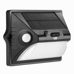 12 LEDs Solar PIR Motion Sensor Wall Light With RGB Color Changing, 400 Lumen, Waterproof IP65, Idea for Outdoor Wall Home Security