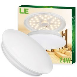 24W 16-Inch LED Ceiling Lights- 2000lm