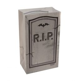 Plastic Luminaria Bag - Tombstone
