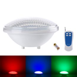18W RGB Swimming Pool Lights, LED Underwater Light, 12 Modes, Color Changing, Remote Controller Included, 12V PAR56 Waterproof Pond Light
